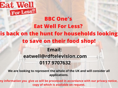 Eat Well for Less TV Programme