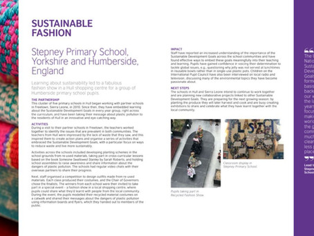 Stepney's Global Work in British Council Report