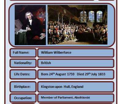 Famous Brits: William Wilberforce