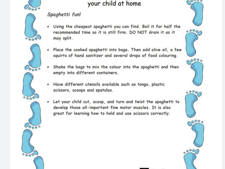 Activity Ideas for EYFS & Year 1 pupils 18th June