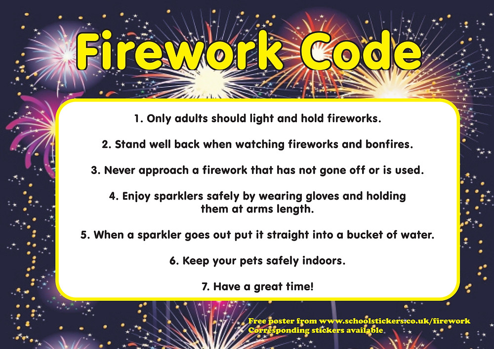 Safeguarding Assembly - Follow the Firework Code