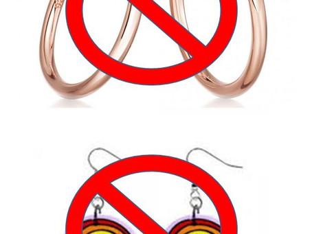 Health & Safety: Earrings in School
