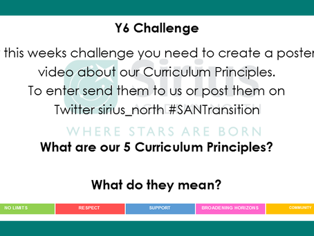 Sirius Academy Weekly Challenges #1