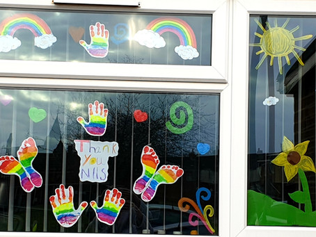 Pupils' Work - Kian & Casey's Window