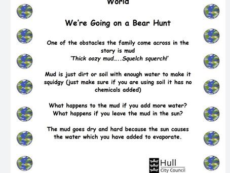 Activity Ideas for EYFS & Year 1 pupils 22nd June