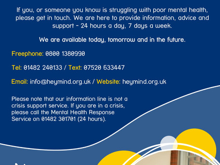 Hull & East Yorkshire Mind Support