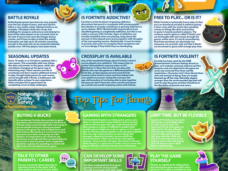 E-Safety Information: Fortnite Chapter 2
