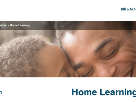 Yorkshire Water Home Learning Site