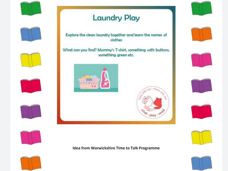 Activity Ideas for EYFS & Year 1 pupils 19th June