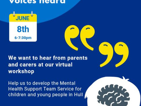 Get Involved in the Development of the Mental Health Support Team Service