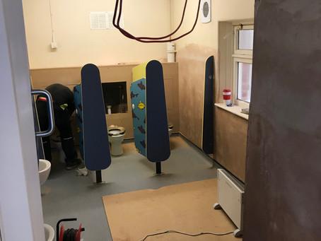 EYFS Refurbishment Continues