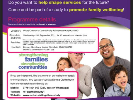 Message from Head Start to Parents