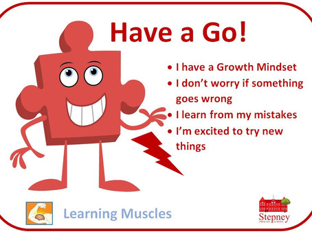 Growth Mindset Learning Muscle of the Week: Have a Go!