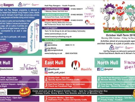 Head Start Hull Play Rangers this October Half Term