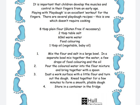 Activity Ideas for EYFS & Year 1 pupils 30th March