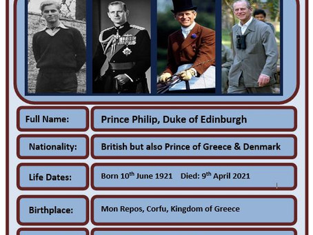 Famous Brit of the Week #74 - Prince Philip