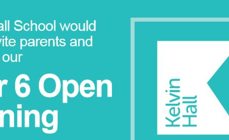 Year 6  Open Evening at Kelvin Hall School