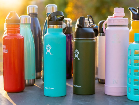 Reusable Water Bottle Reminder