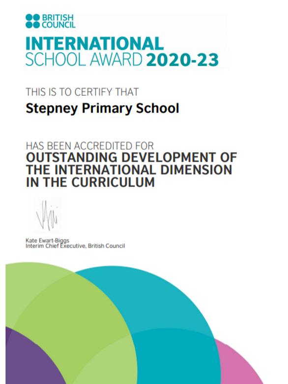 International School Award (Stepney).PNG