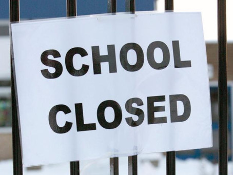School Closed Today - Start of Remote Learning