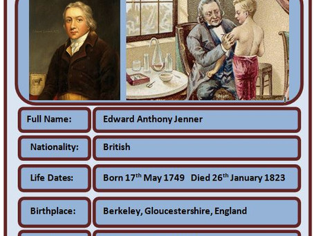 Famous Brits of the Week - Edward Jenner