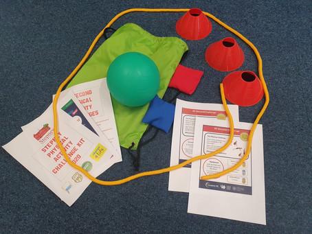PE Home Learning Fitness Kit for Stepney Pupils