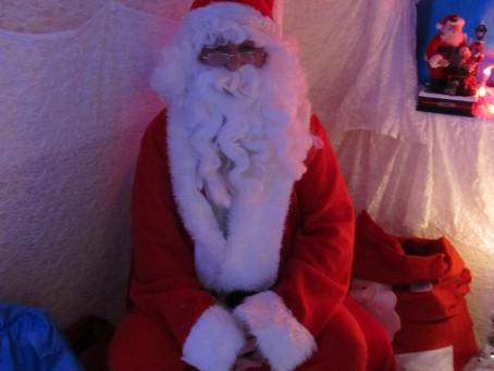 A V.I.P. visits our Christmas Disco