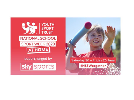 National School Sports Week at home & Other Physical Activities for the Summer