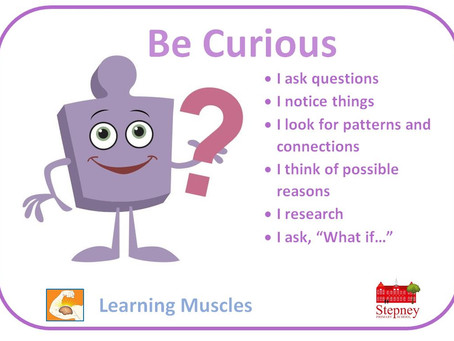 Growth Mindset Learning Muscle of the Week: Be Curious