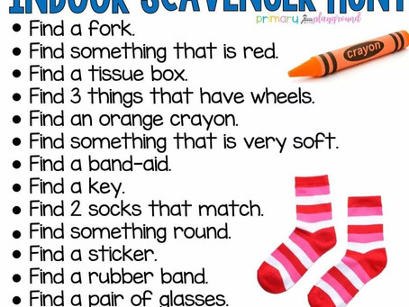 An Indoor Scavenger Hunt