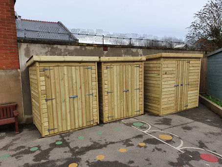 New Sports Equipment Sheds