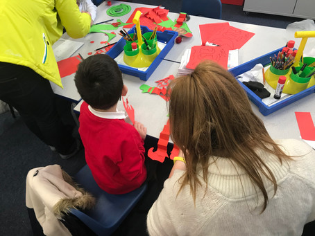 Year 1 & 2 Christmas Crafts Morning