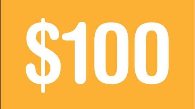 $100 Towards Band Fee
