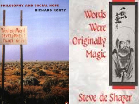 (Not) the essence of Richard Rorty and Steve de Shazer
