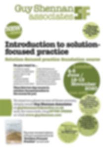 GuyShennan solution-focused training courses 2020