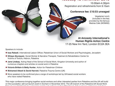 Social Work in Palestine conference