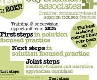 2013 solution focused training courses