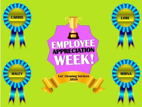 Employee Appreciation Week 2020