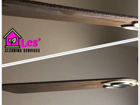 When was the last time you cleaned your ceiling fans?