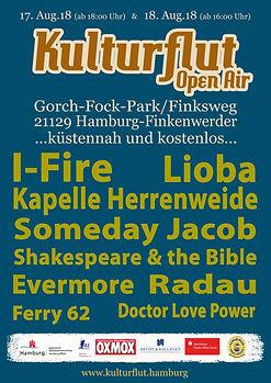 Kulturflut 2018 | Hamburg | Kulturflut Festival