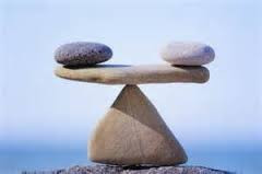 It's all about balance.