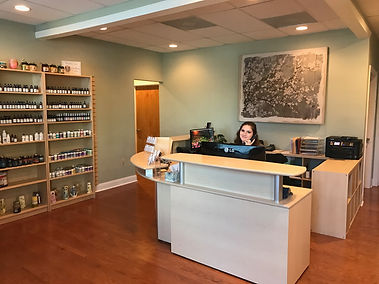 Baxter Village Health Center Patient Reception - Fort Mill, SC - Chiropractor - Acupuncture - Massage Therapy - Laser Therapy - Physical Therapy – Reflexology