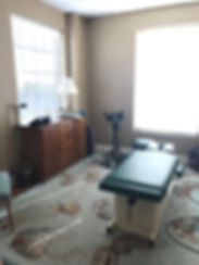 Chiropractic Treatment Room - Fort Mill, SC | Baxter Village Health Center