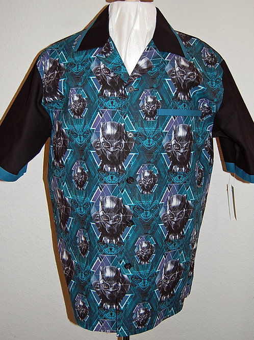Shirt made with licensed Black Panther cotton fabric