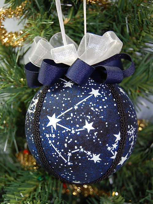 """Constellations (glow-in-the-dark) ornament - 4"""""""