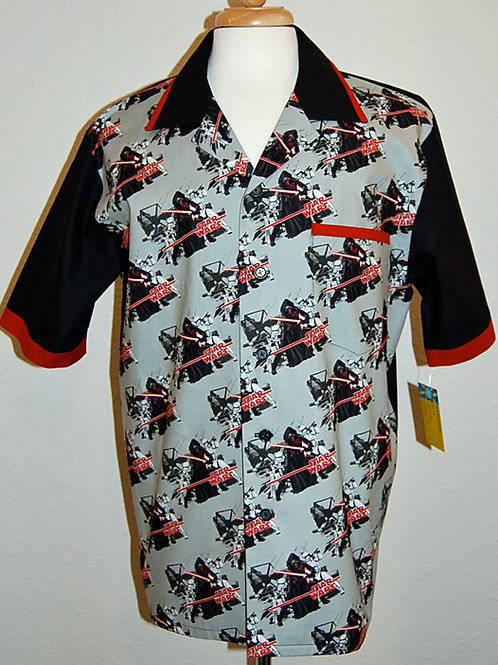 Star Battles shirt (made from Licensed cotton print fabric)