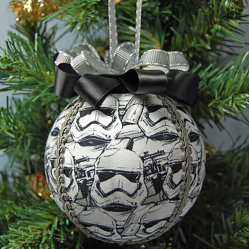 """Star Battles evil guys ornament - 4"""" (made from Licensed cotton print fabric)"""