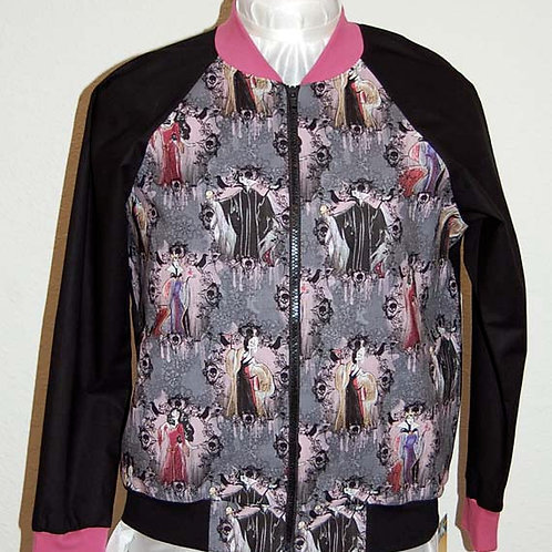 Lady Villains ladies jacket (made from Licensed cotton print fabric)