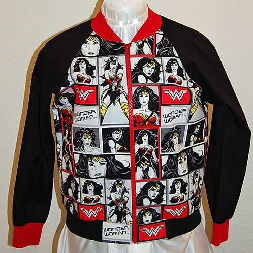 Fabulous Lady Hero ladies jacket (made from Licensed cotton print fabric)