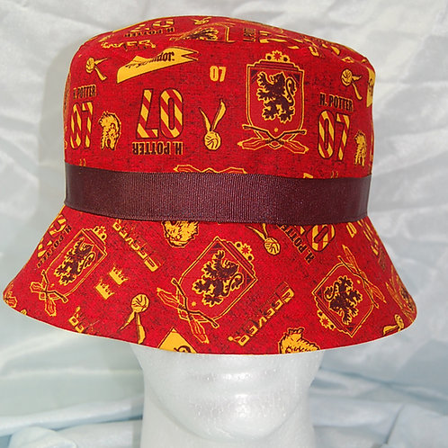 Wizard Lion House bucket hat - made from Licensed cotton print fabric